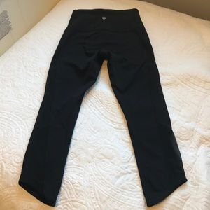Brand new lululemon crops